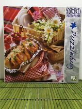 NEW Sealed Puzzlebug 1000 Piece Jigsaw Puzzle Picnic for Two PIcnic Basket
