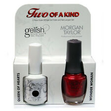Harmony - Two of a Kind - Gelish Queen of Hearts & Morgan Taylor Wonder Woman