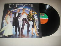 The Manhatten Transfer - Live    Vinyl  LP