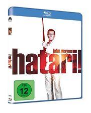 Blu-ray  *  HATARI  -  JOHN WAYNE - HARDY KRÜGER  # NEU OVP =