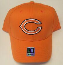 NFL Chicago Bears Reebok GSH Pro Shape Flex Curve Brim Cap Hat L/XL NEW!!