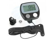 LCD Bike Bicycle Cycle Fitness Computer Odometer Speedometer RPM Meter