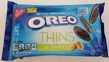 NEW 2018 Nabisco Oreo Thins Pistachio Creme Cookies FREE WORLDWIDE SHIPPING