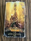 The Goonies VHS 1985 *RARE* ORIGINAL! First Edition Warner Home Video No Barcode