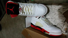 2006 Jordan Retro 5 Fire Red Size 12