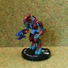 8) Halo ActionClix #023 MAJOR ELITE - PLASMA RIFLE. No Stats Card. 2007