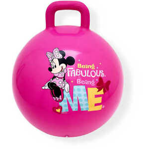 Licensed Disney Minnie Mouse Bouncy Hopper Ball Indoor/Outdoor Active Play- Pink