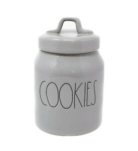 RAE DUNN: BY MAGENTA: MODERN: COOKIES CANISTER: ROUND CONTAINER: BRAND NEW