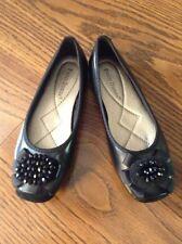 Pierre Dumas Womans Ballet Flats Black Size 6