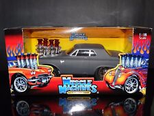 Muscle Machines '63 Plymouth Savoy Hot Rod 1:18 Scale Diecast 1963 Model Car