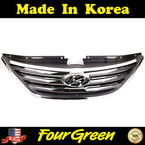 Radiator Grille upper for 2011-2014 Hyundai Sonata ⭐⭐⭐⭐⭐