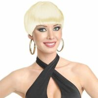Blonde Blond Short 20's Flapper Wig Official Charades Brand New Jazzy Bob Cut