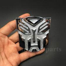 Metal Transformer Autobot Deception Car Front Grille Emblem  Badge Decal Sticker