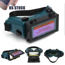Solar Powered Auto Darkening Welding Mask Helmet Eyes Goggle Welder Glasses US
