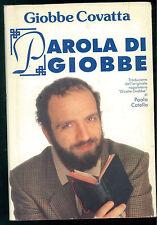 COVATTA GIOBBE PAROLA DI GIOBBE CDE 1992 HUMOR