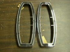 NOS OEM Ford 1968 1969 Fairlane Station Wagon Tail Light Lamp Doors Bezels Trim