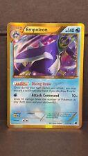 Pokemon Card SHINY Empoleon 117/116 Plasma Freeze Holo Secret Rare Moderate Play