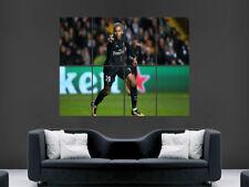 Kylian Mbappe cartel PSG Paris Saint Germain fútbol Pared Arte Impresión