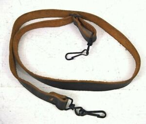 BROWN LEATHER RIFLE SLING