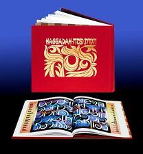 Jewish Passover Haggadah Book, Judaica Hebrew English Illustrated Pesach Israel