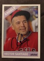 HECTOR SANTIAGO 2015 TOPPS HERITAGE AUTOGRAPHED SIGNED AUTO BASEBALL CARD 316