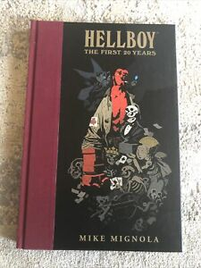 HELLBOY The First 20 Years Hardcover By Mike Mignola FREE SHIPPING