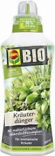 COMPO BIO Kräuterdünger für alle Gewürzpflanzen und Kräuter, Natürlicher S