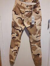 FRANKLIN MARSHALL Desert Combat Pattern Skinny Fit Stretch  Jeans RRP £89