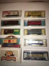 Mixed lot of 10 N-Scale Train Cars