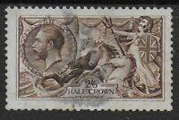 SG400.  Waterlow 2s6d.Sepia Brown. Fine Used & Well Centred.  Cat.£140. Ref:0/42