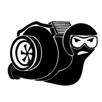 Adesivo sticker PILOT SNAIL vinile auto car tuning gara lumaca arrabbiata NERO
