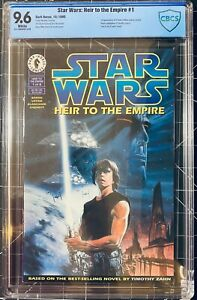 Star Wars Heir to the Empire 1-6 CBCS (9.6-9.8) (1ST APP ADMIRAL THRAWN) KEYS
