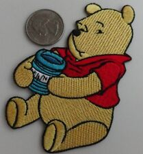 Winnie the Pooh Hunny Pot Embroidered Iron On Patch - New, Rare 2006, Disney