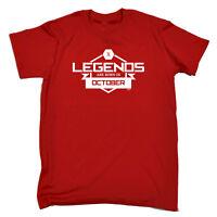 Funny Novelty T-Shirt Mens tee TShirt - Legends October