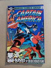 Captain America 258 . Mike Zeck . Marvel 1981 . VF - minus
