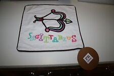 "NEW NWT Pottery Barn PB Teen Astrology Pillow Cover Case Sham 12x12"" Sagittarius"