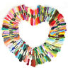 8PCS 7.5M COTTON CROSS STITCH EMBROIDERY THREAD FLOSS DIY CRAFT SEWING SKEINS UK