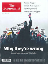 The Economist Magazin, Heft 40/2016: Why they're wrong  +++ wie neu +++