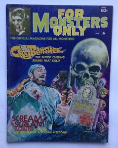 For Monsters Only, June 1972