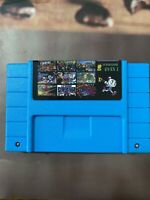Super 49 in 1 for Nintendo SNES Multi Cart Game Cartridge Battery Save US & NTSC