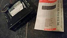 "Kassettenradio "" Philips "" 22 DC 245 / 82 mit Kabel & Radioschacht"