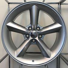 Saleen Mustang GT Wheels 18 x 9 +36 5x4.5 Silver RaceCraft 05 09 11 12 Ford Rims