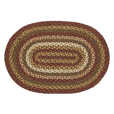 """Tea Cabin Jute Oval Rug 27"""" x 48"""" by VHC Brands"""