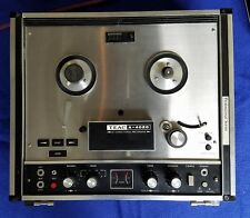 TEAC A-4020 reel to reel tape recorder in GOOD WORKING ORDER serviced