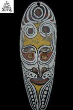 Stunning Fine Ancestor Amulet Mask, Sepik River, PNG, Papua New Guinea
