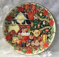 A Royal Doulton Together for Christmas plate Jane James 1993