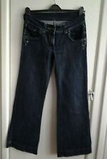 Ladies black Dorothy Perkins bootcut jeans. Size 10.