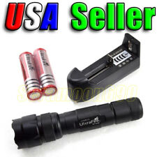 UltraFire WF-502B CREE XM-L T6 LED Flashlight 2x Rechargeable Batt & Charger