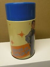 Meca Davey And Golaith 2002 Metal Thermos Complete