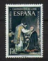 A7768) Spain 1967 Scott #1507 MNH S. Jose De Calasanz 1v